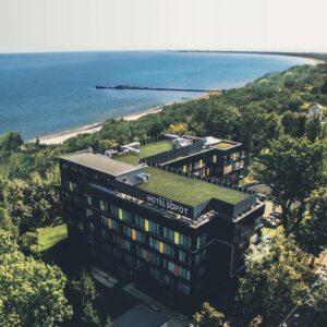 Hotel Sopot aan de Poolse kust