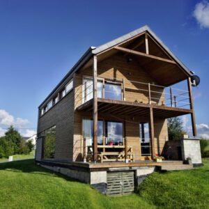 duurzaam natuurhuisje Belgie