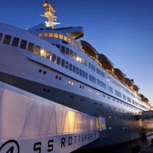 ss Rotterdam: luxe hotel schip in Rotterdam