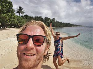 Timothy & Wendy reizen verder naar Kiribati