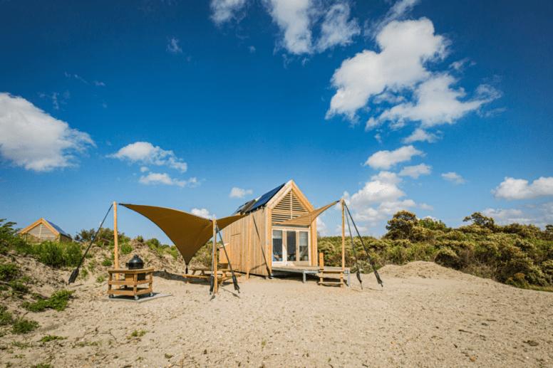 duurzaam overnachten aan de Nederlandse kust