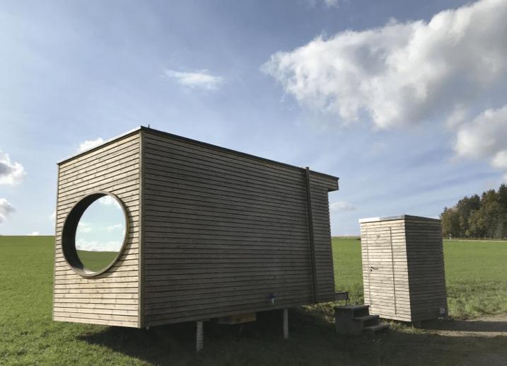 Minimalistisch natuurhuisje Duitsland